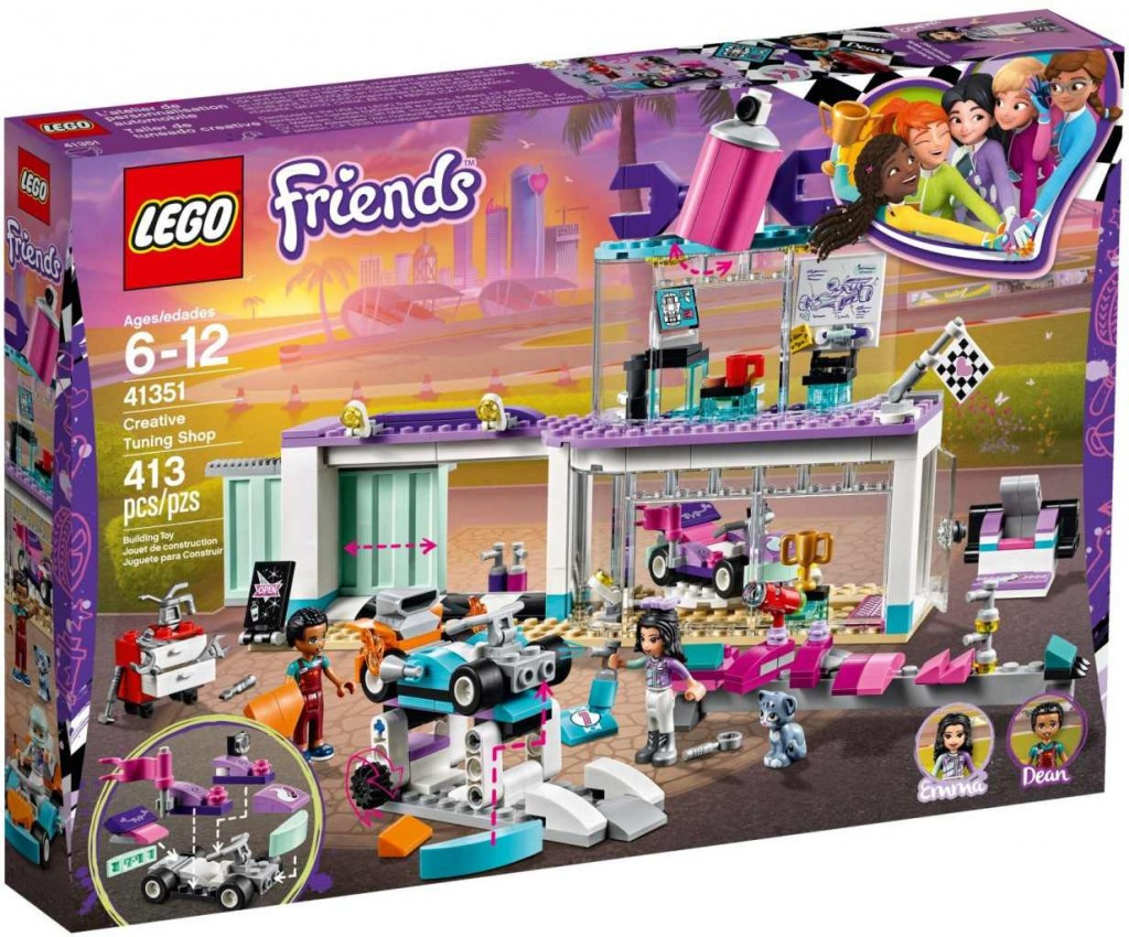 Lego LEGO Friends 41351 Tuningová dílna
