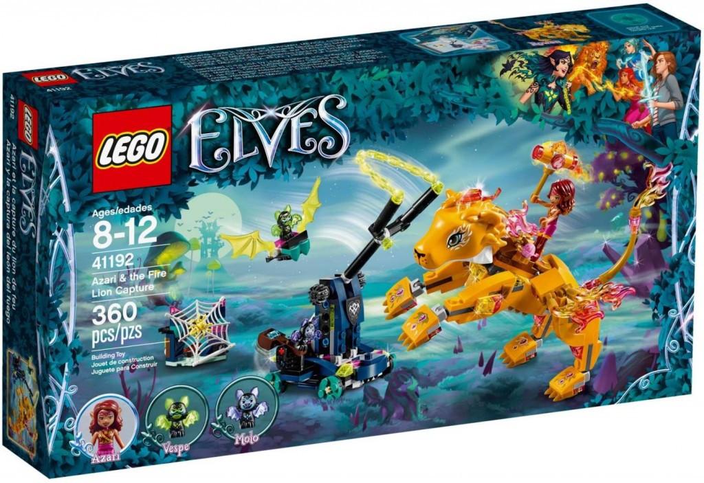 Lego LEGO Elves 41192 Azari a chycení ohnivého lva