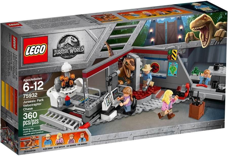 Lego LEGO Jurassic World 75932 Jurský park: hon na Velociraptora