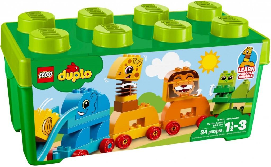Lego LEGO Duplo 10863 Můj první box se zvířátky