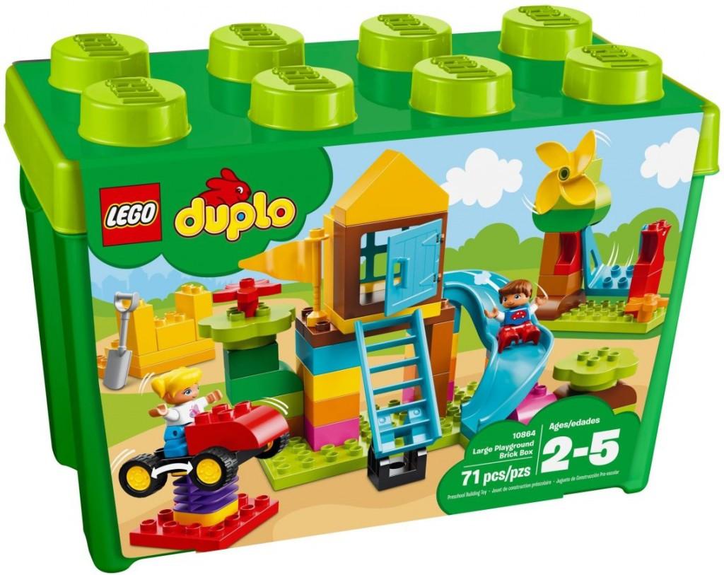 Lego LEGO Duplo 10864 Velký box s kostkami na hřiště