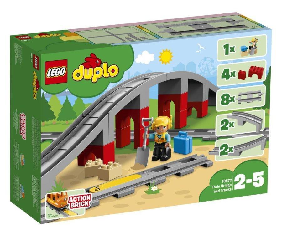 Lego LEGO Duplo 10872 Doplňky k vláčku – most a koleje