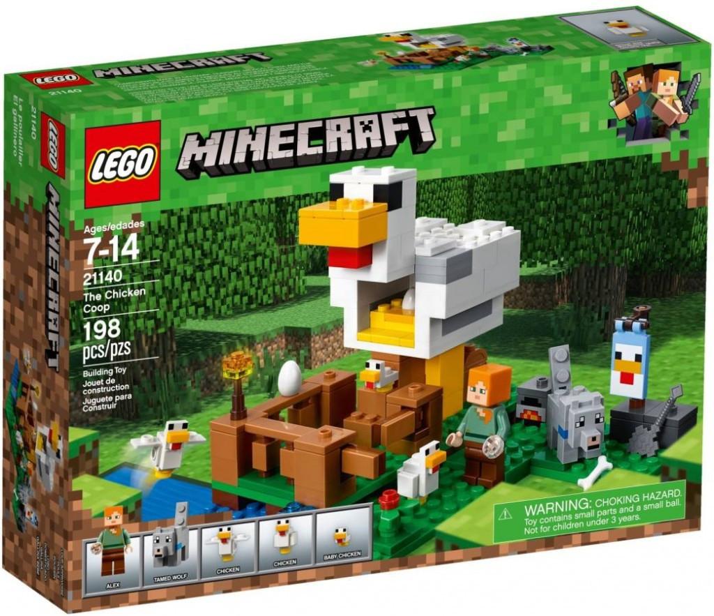 Lego LEGO Minecraft 21140 Kurník