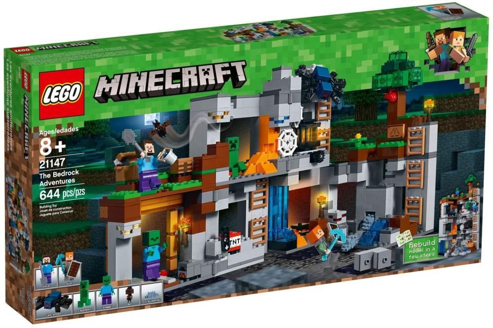Lego LEGO Minecraft 21147 Skalní dobrodružství