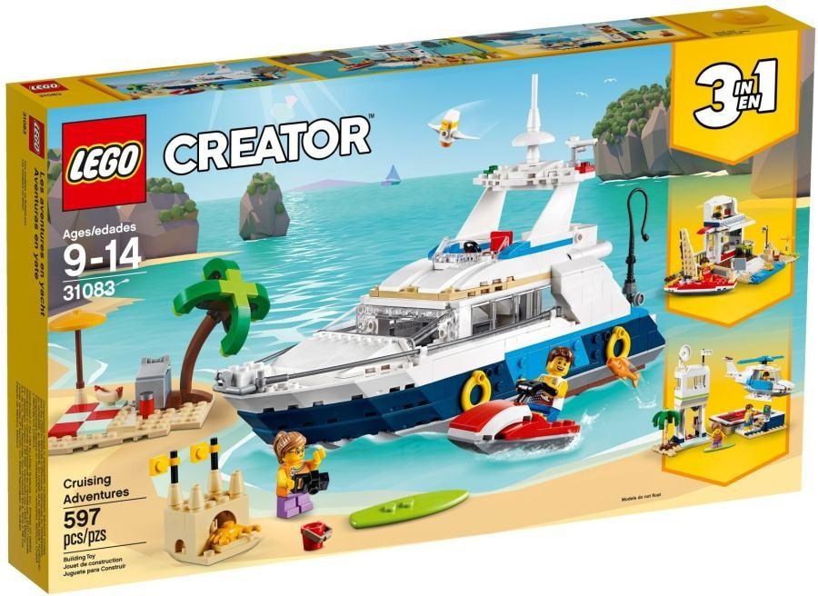 Lego LEGO Creator 31083 Dobrodružná plavba