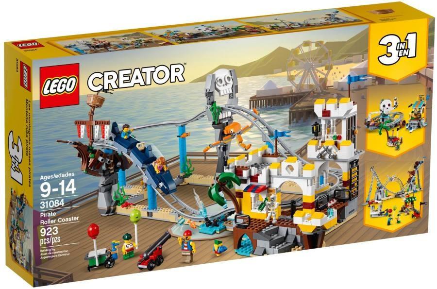 Lego LEGO Creator 31084 Pirátská horská dráha