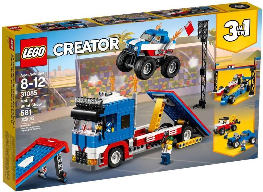 Lego LEGO Creator 31085 Mobilní kaskadérské představení