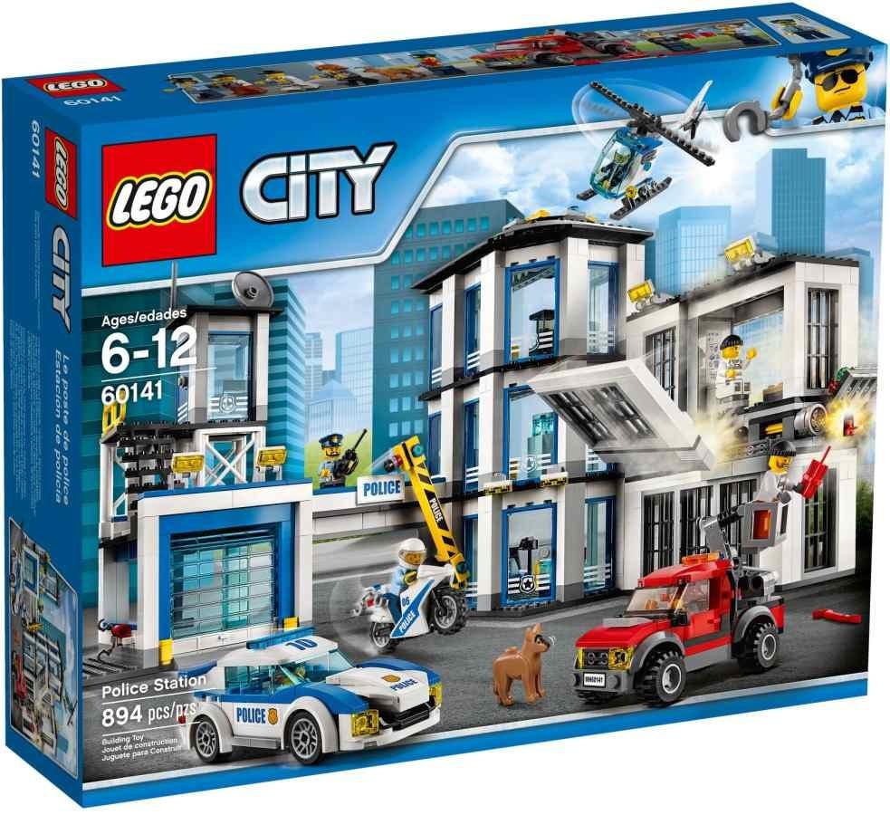 Lego LEGO City 60141 Policejní stanice