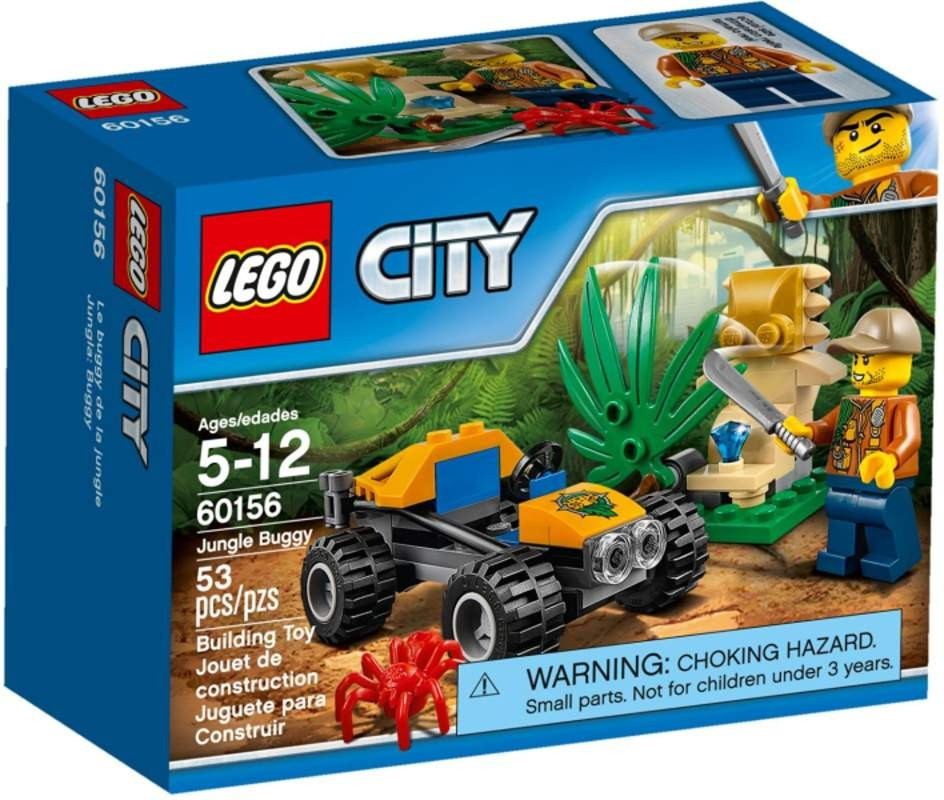 Lego LEGO City 60156 Bugina do džungle