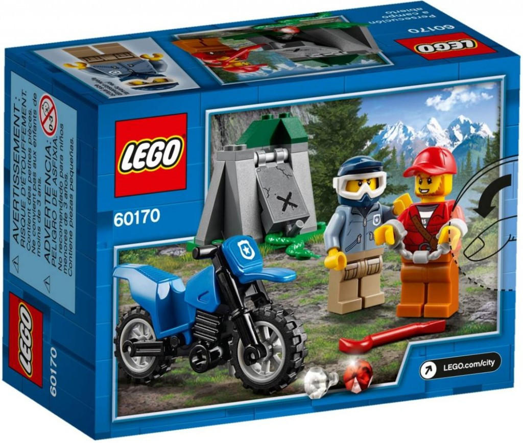 Lego LEGO City 60170 Terénní honička