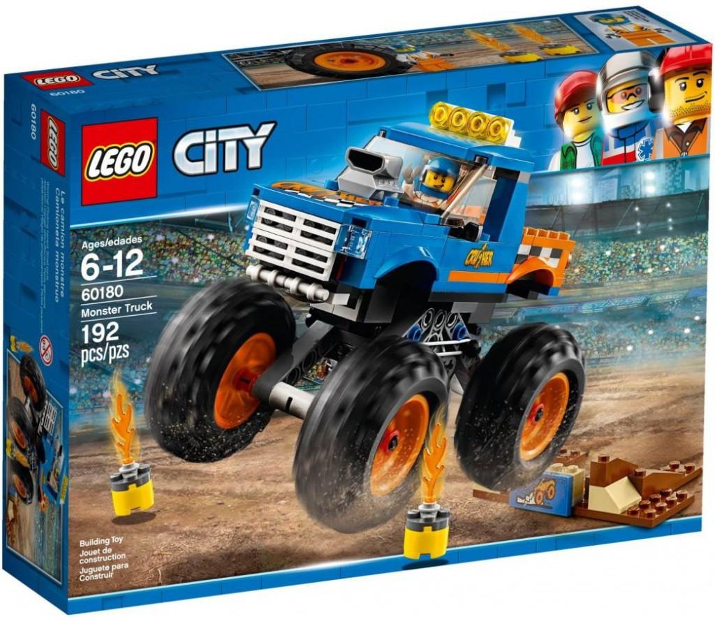 Lego LEGO City 60180 Monster truck