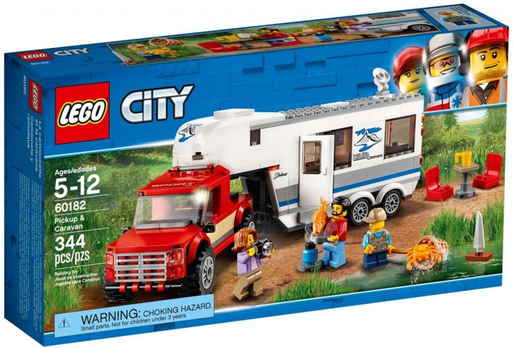 Lego LEGO City 60182 Pick-up a karavan