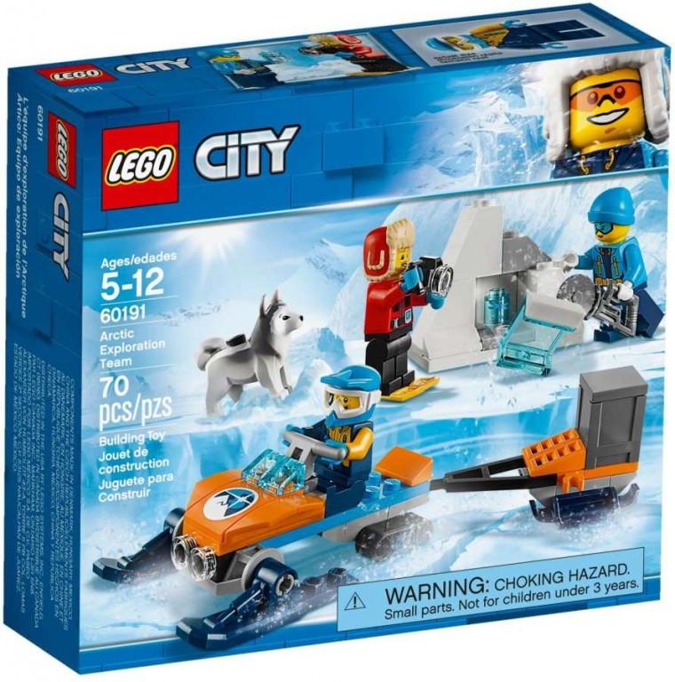 Lego LEGO City 60191 Průzkumný polární tým