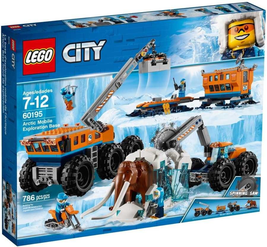 Lego LEGO City 60195 Mobilní polární stanice