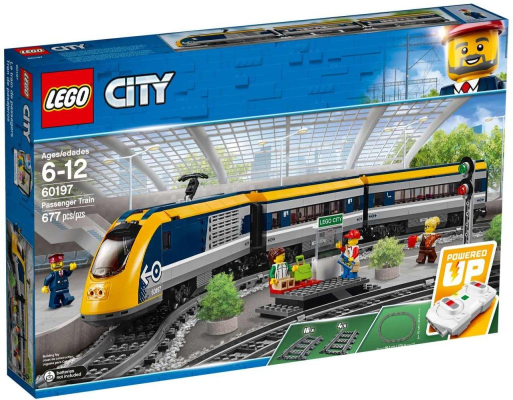 Lego LEGO City 60197 Osobní vlak