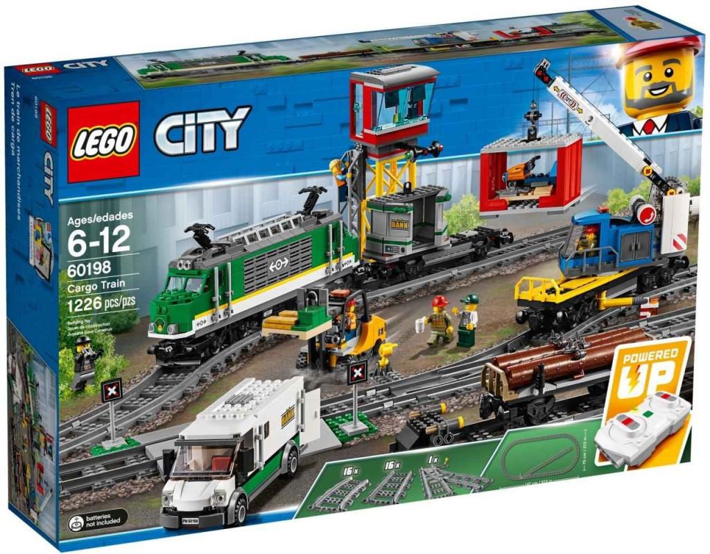 Lego LEGO City 60198 Nákladní vlak