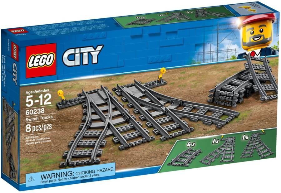 Lego LEGO City 60238 Výhybky