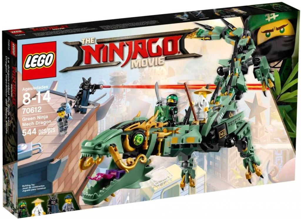 Lego LEGO Ninjago 70612 Robotický drak Zeleného nindži