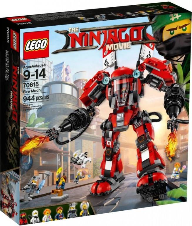 Lego LEGO Ninjago 70615 Ohnivý robot