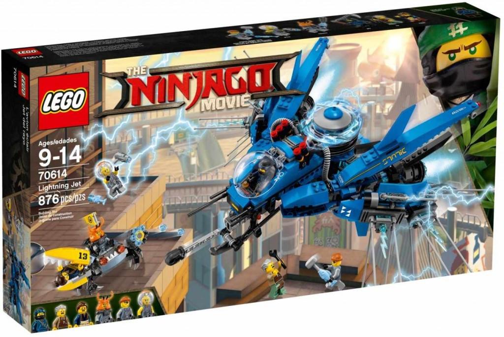 Lego LEGO Ninjago 70614 Blesková stíhačka