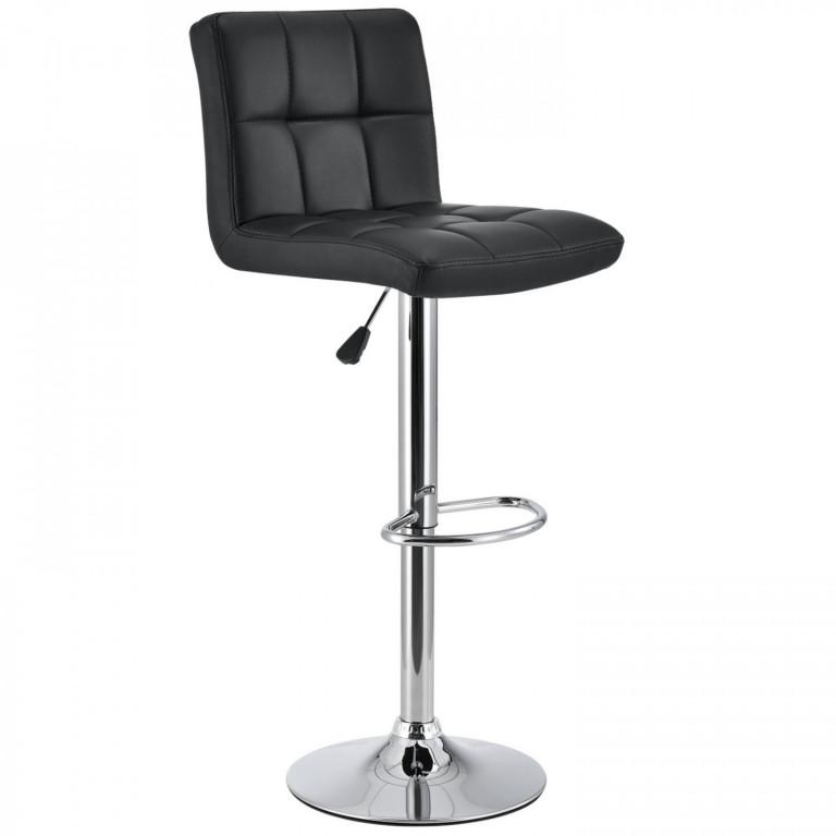 Barová židle Jolly | černá