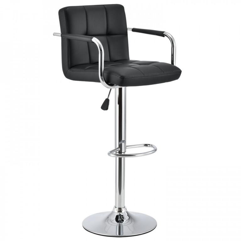 Barová židle Flona | černá