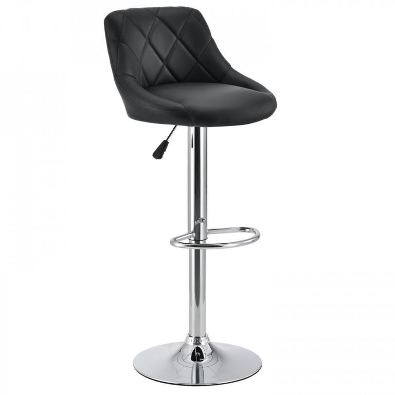 Barová židle Venus | černá