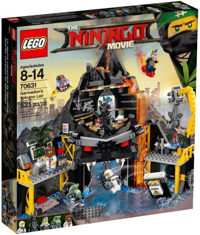 Lego LEGO Ninjago 70631 Garmadonovo sopečné doupě