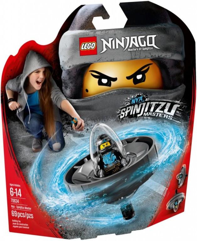 Lego LEGO Ninjago 70634 Nya - Mistryně Spinjitzu