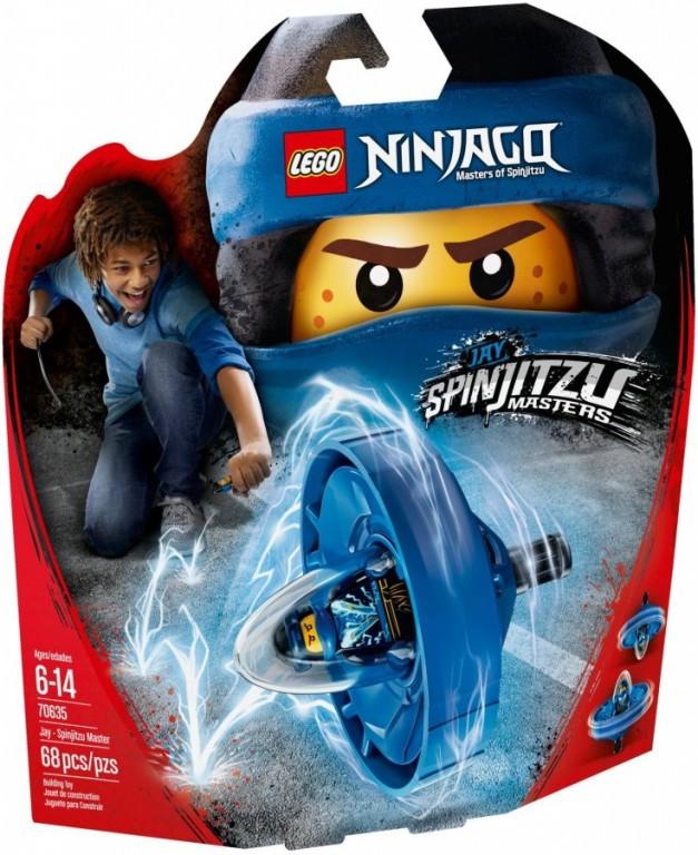 Lego LEGO Ninjago 70635 Jay - Mistr Spinjitzu