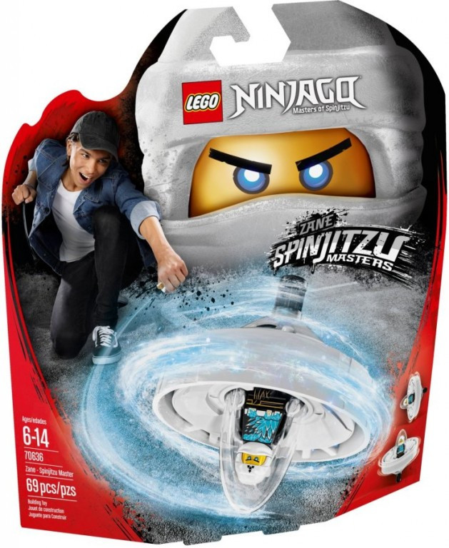 Lego LEGO Ninjago 70636 Zane - Mistr Spinjitzu