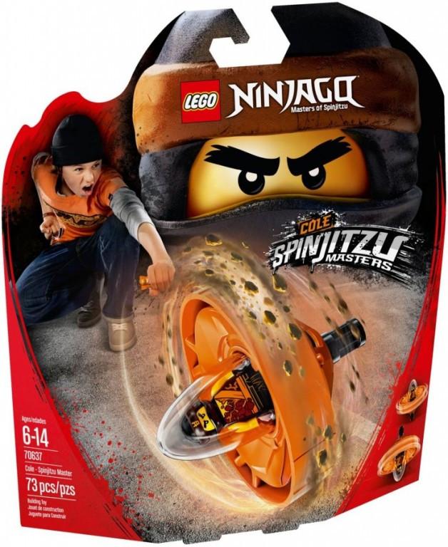 Lego LEGO Ninjago 70637 Cole - Mistr Spinjitzu