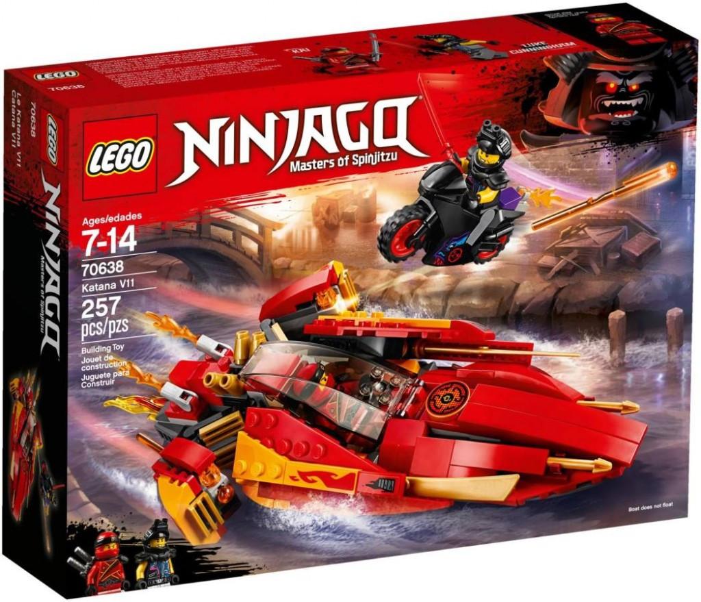 Lego LEGO Ninjago 70638 Katana V11