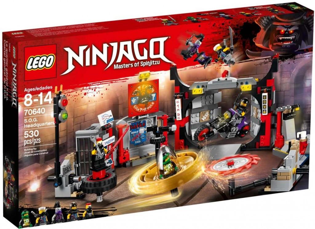 Lego LEGO Ninjago 70640 S.O.G. Základna