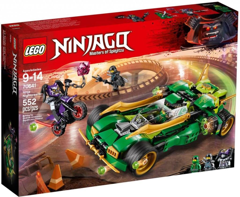 Lego LEGO Ninjago 70641 Nindža Nightcrawler