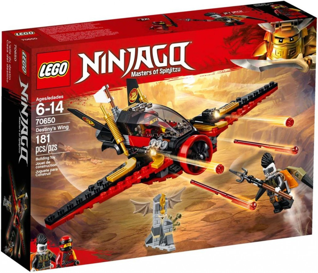 Lego LEGO Ninjago 70650 Křídlo osudu