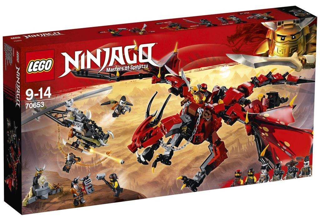Lego LEGO Ninjago 70653 Firstbourne