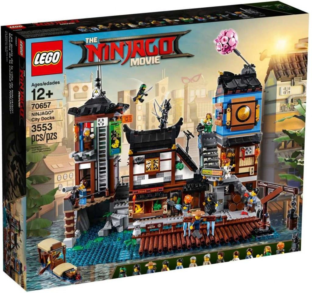 Lego LEGO Ninjago 70657 Přístaviště v NINJAGO® City