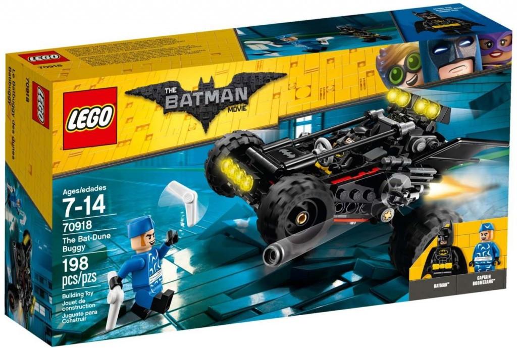 Lego LEGO Batman Movie 70918 Pouštní Bat-bugina