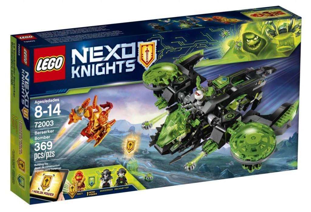 Lego LEGO Nexo Knights 72003 Běsnící bombardér