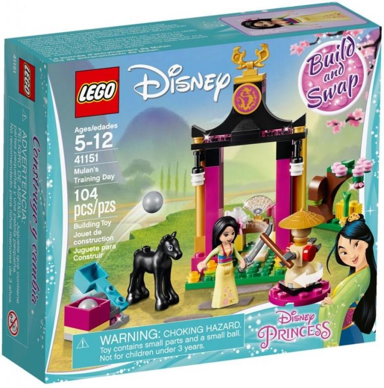 Lego LEGO Disney 41151 Mulan a její tréninkový den