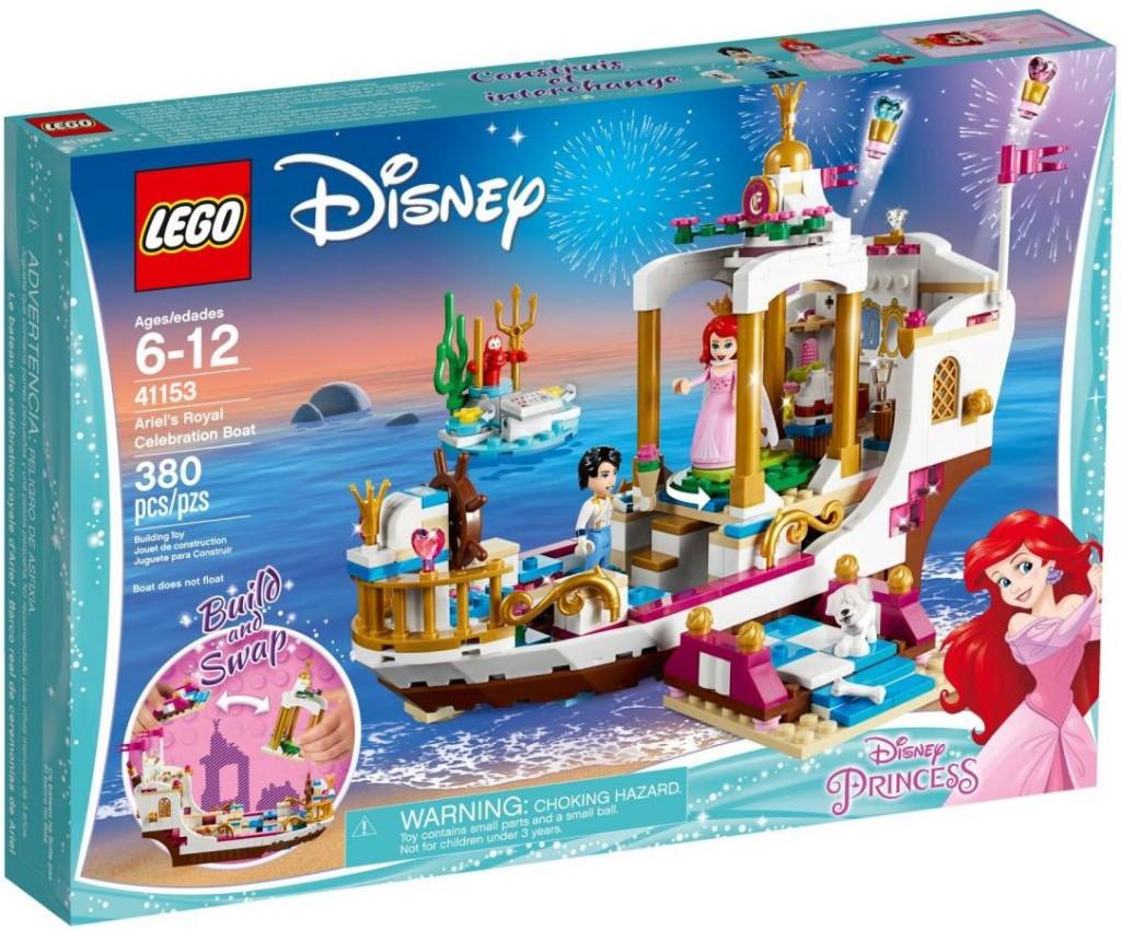 Lego LEGO Disney 41153 Arielin královský člun na oslavy