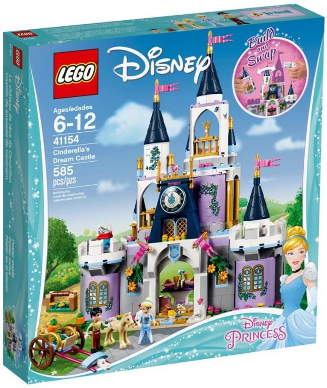 Lego LEGO Disney 41154 Popelčin vysněný zámek