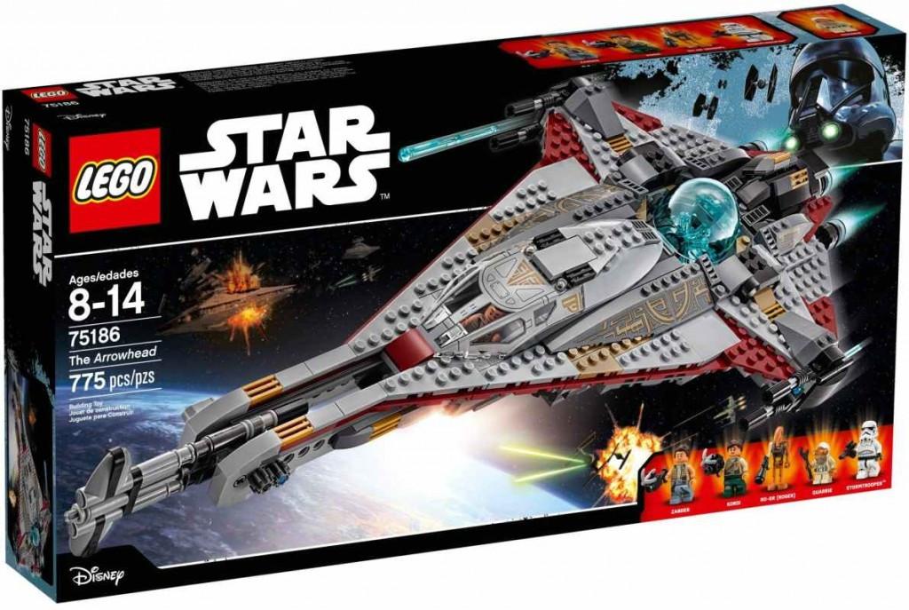 Lego LEGO Star Wars 75186 Vesmírná loď Arrowhead