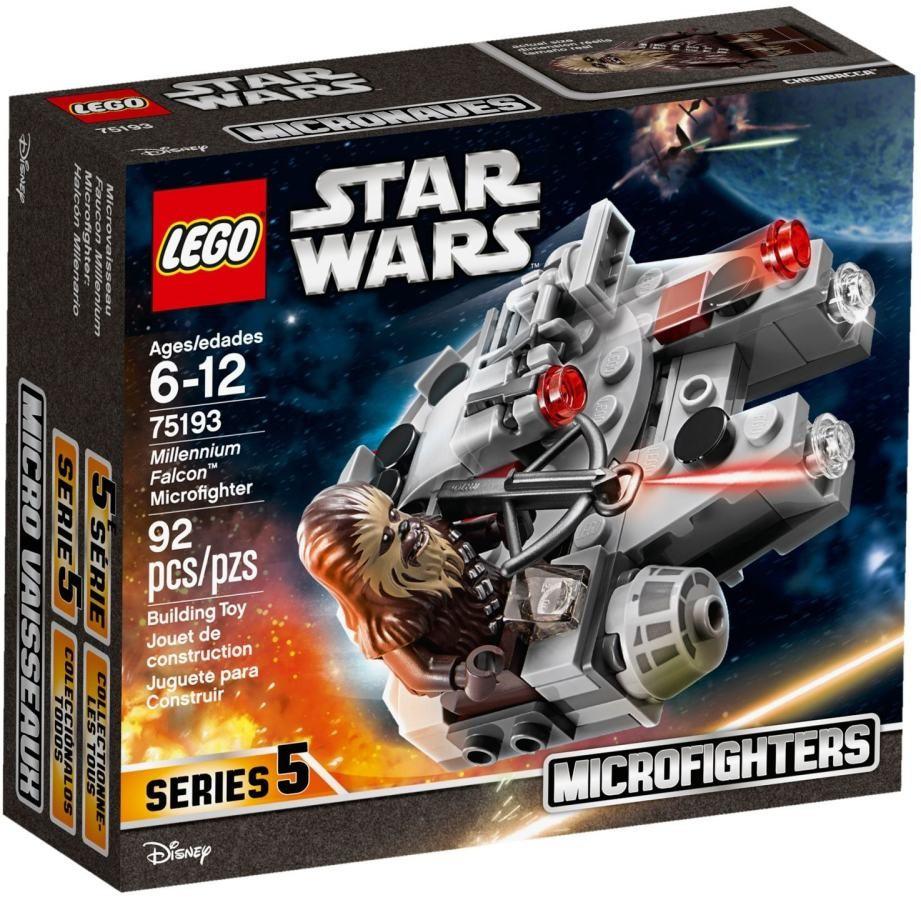 Lego LEGO Star Wars 75193 Mikrostíhačka Millennium Falcon™