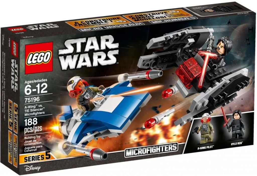 Lego LEGO Star Wars 75196 Stíhačka A-Wing™ vs. mikrostíhačka TIE Silencer™