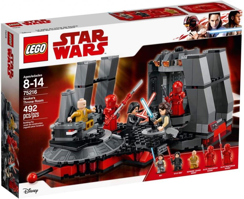 Lego LEGO Star Wars 75216 Snokeův trůní sál