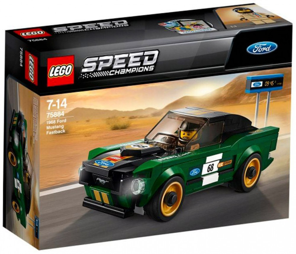 Lego LEGO Speed Champions 75884 - 1968 Ford Mustang Fastback