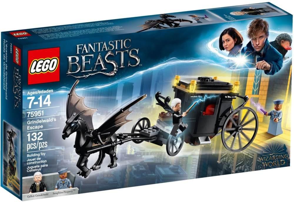 Lego LEGO Harry Potter™ 75951 Grindelwaldův útěk