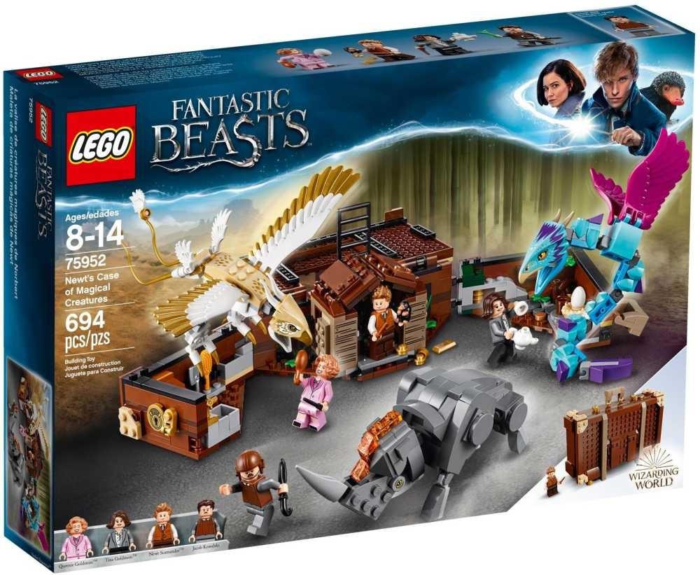 Lego LEGO Harry Potter™ 75952 Mlokův kufr plný kouzelných tvorů